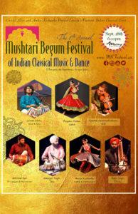 8th Annual Mushtari Begum Festival @ The Massey Theatre